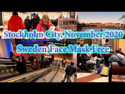 STOCKHOLM CITY, November 2020 Face mask free...