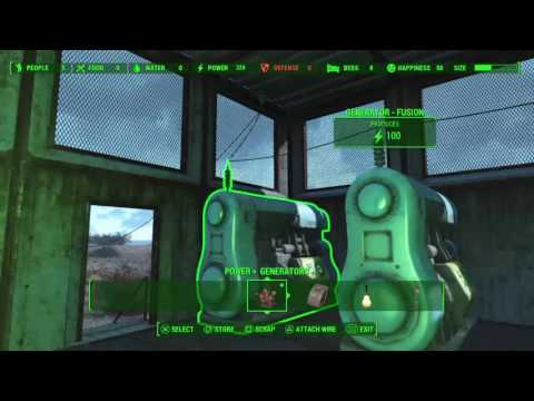 Building a settlement on Spectacle Island in Fallout 4