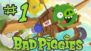 Bad Piggies! \ Прохождение || Часть 1 // Весело и глупо