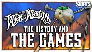 The War of the Worlds: The History and The Games - SGR