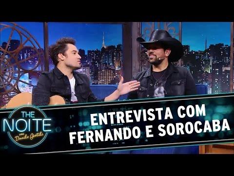 The Noite (02/06/16) - Entrevista com Fernando e Sorocaba