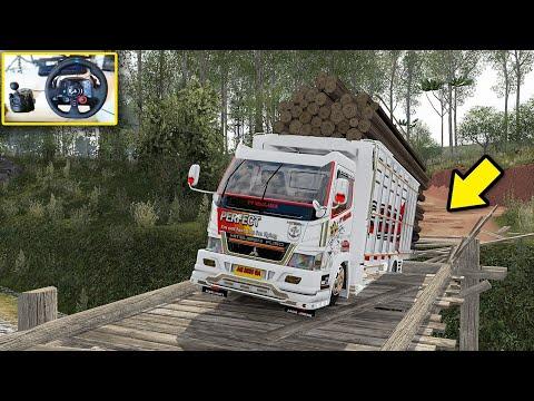 Auto Njepat!! Muatan Full Truk Canter Begini Jadinya!! - Euro Truck Simulator 2
