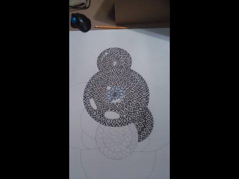 Bipolar Art - [HD] - Epic Mandala - Sharpie Art