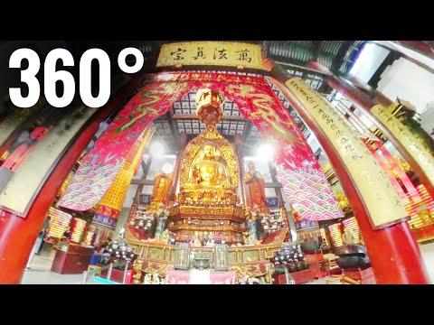 Best 360 video VR Inside Big Buddha Temple China 360° 4K Google Cardboard