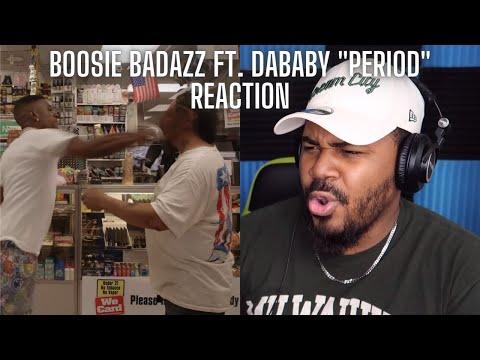 THE SLAP! Boosie Badazz – Period ft. DaBaby REACTION