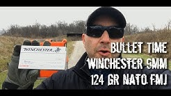 Bullet Time - Winchester 124 gr NATO FMJ 9mm Chronographed