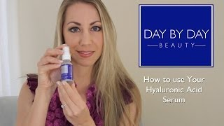 How to Use Day by Day Beauty's Hyaluronic Acid Serum Thumbnail
