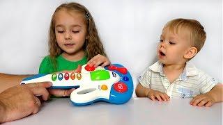 Музична іграшка Гітара / baby star guitar
