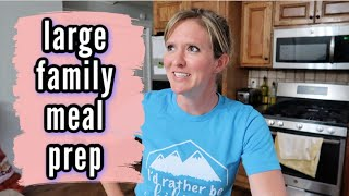 LARGE FAMILY MEAL PREP | SNACKS AND BREAKFASTS