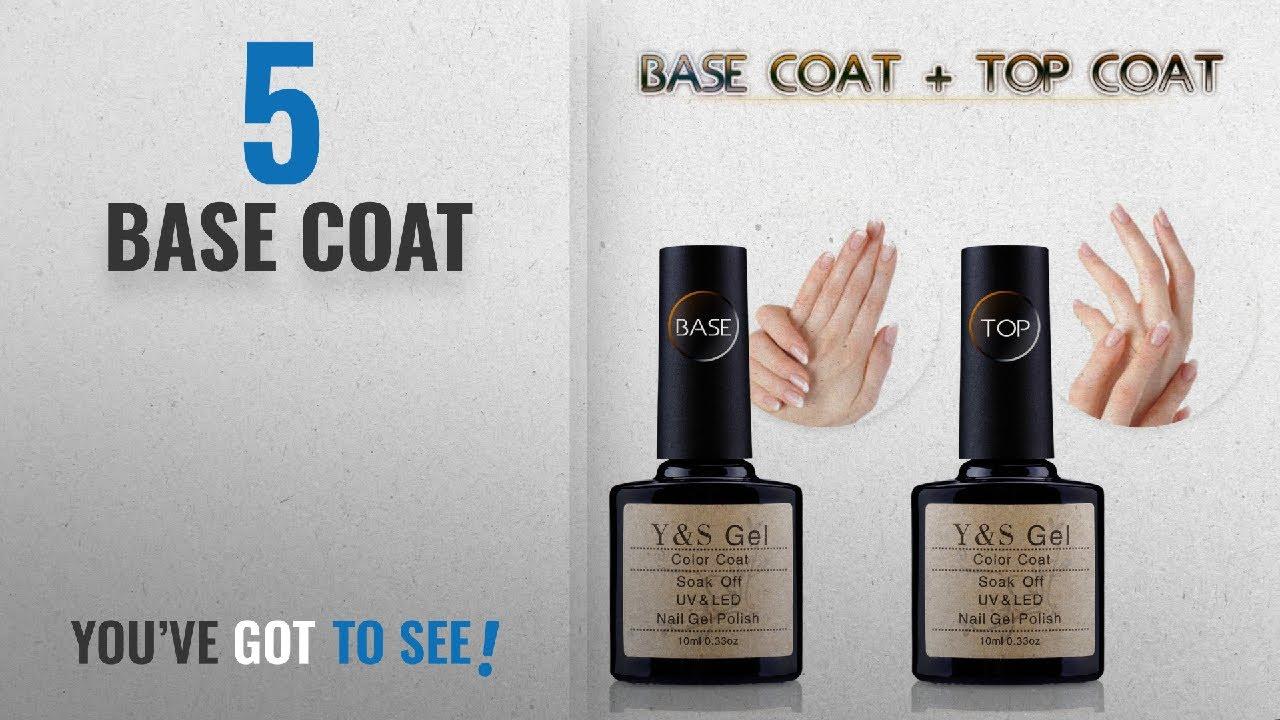 Top 10 Base Coat [2018]: Y&S UV LED Soak Off Gel Nail Polish Top ...