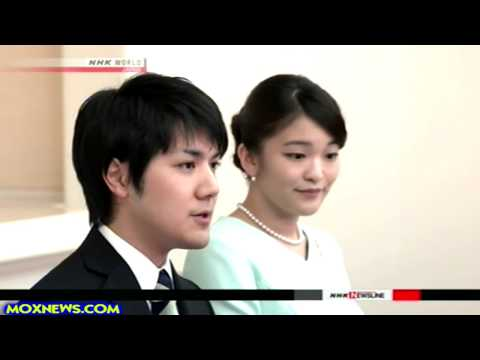Japanese Princess Mako Announces Engagement! (To A Commoner!)