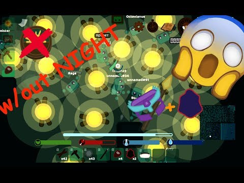 STARVE.iO - LIGHTING UP THE NIGHT w/ TREASURE HUNT AND AMETHYST HELMET UNBOXING