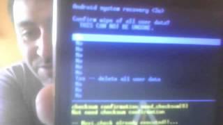 Resetear Samsung Galaxy S GT I9003L