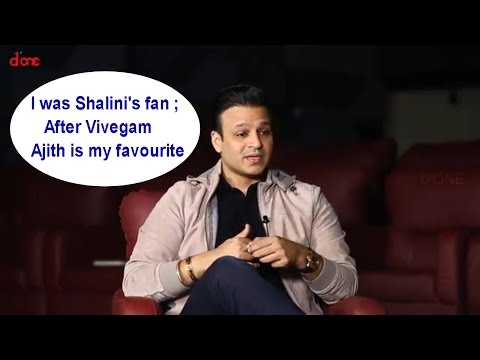 I was Shalini's fan ; After Vivegam Ajith is my favourite : Vivek Oberoi |Exclusive Interview |D'one