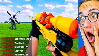 INSANE NERF VIDEO GAMES in REAL LIFE!