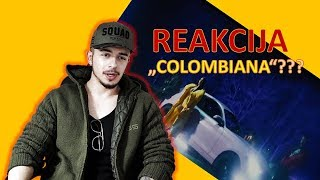ELENA x 2BONA - COLOMBIANA (REAKCIJA NA VIDEO)