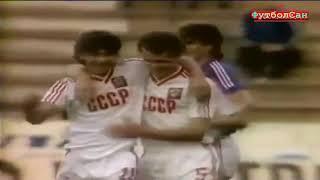 СССР тяжелый путь на Евро 1988