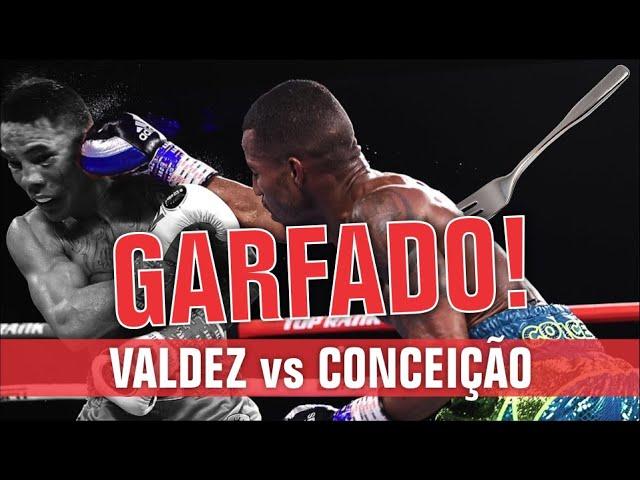 Análise: Oscar Valdez vs Robson Conceição. Garfaram o brasileiro.