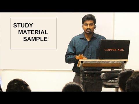 KAS MAINS General studies  STUDY MATERIALS SAMPLE