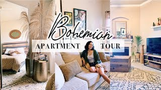 Bohemian Home Decor | My Apartment Tour!! FINALLY!!