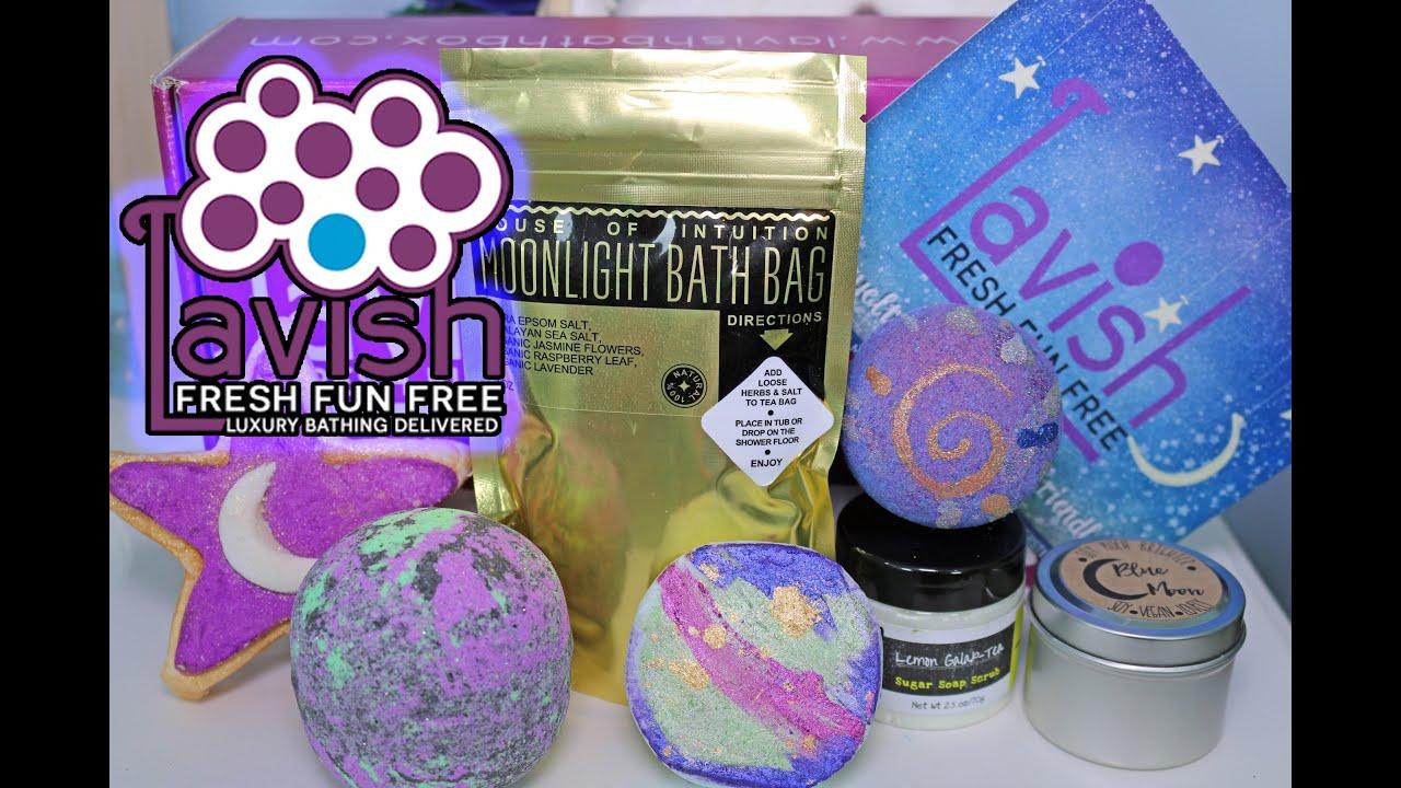 ♥ Lavish Bath Box - UNBOXING Bath Bombs, Bubble Bars, and More ...
