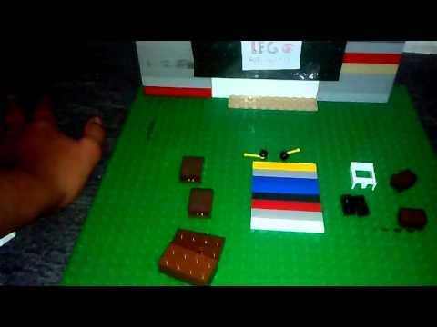 Como hacer television antigua de lego