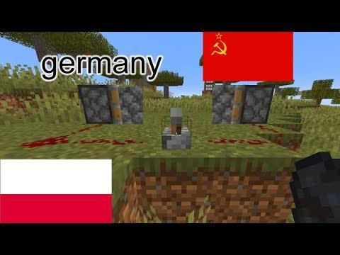 World War 2 Portrayed By Minecraft