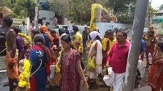 Kumarapuram sree balaubramanya temple kavadi ghoshayathra 2018