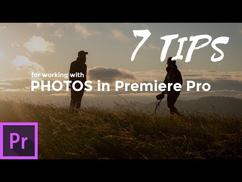 7 Tips When Working with Photos in Adobe Premiere Pro