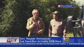 Governor Bruce Rauner Formally Announces Bid For Re-Election In 2018