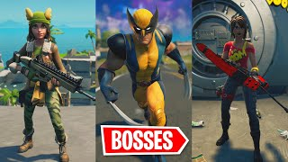 I Pretended To Be Old Bosses In Fortnite