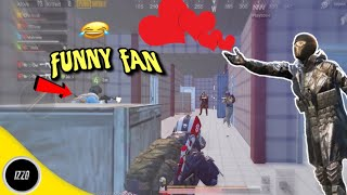 Playing With Extremely Hyped & Funny Fan😂   PUBG Mobile   Funny Moments!