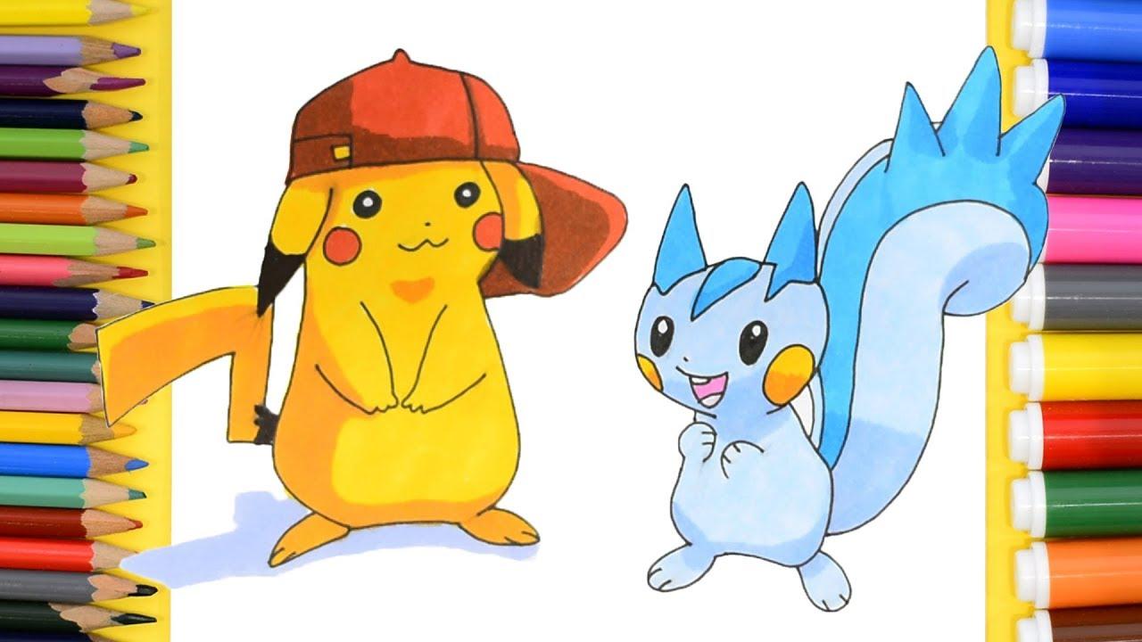 How to Draw Pokemon Pikachu. How to Draw Pokemon Pachirisu ...