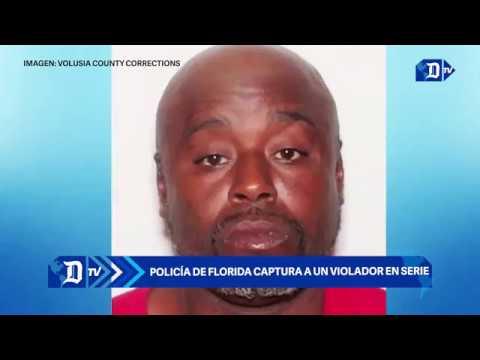 Policía de Florida captura a un violador en serie