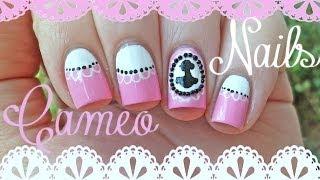 Elegant Cameo Nail Art