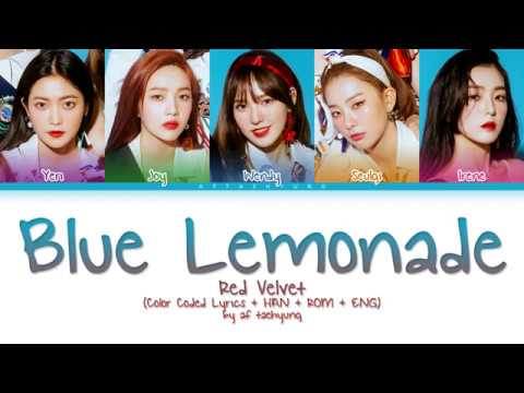 Red Velvet (레드벨벳) - Blue Lemonade (Color Coded Lyrics Eng/Rom/Han)