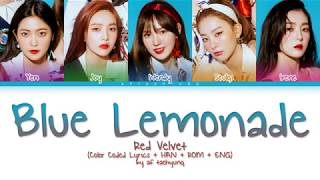 red velvet blue lemonade