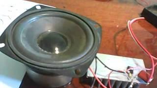 підсилювач звуку на одному транзисторі