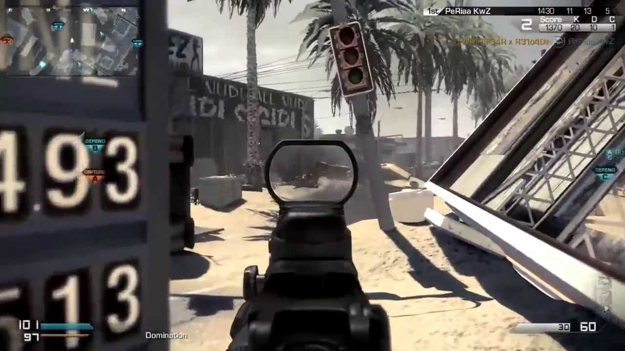 XBOX ONE   Call Of Duty Ghosts Multiplayer - YouTube