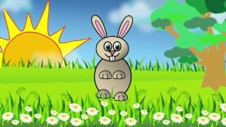 Заинька, попляши. Русская народная мульт-потешка / Russian funny song about bunny. Наше всё!