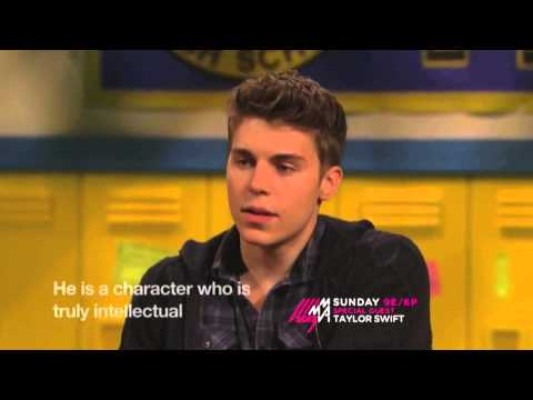 Nolan Funk speaks French on the MTV Awkward. aftershow