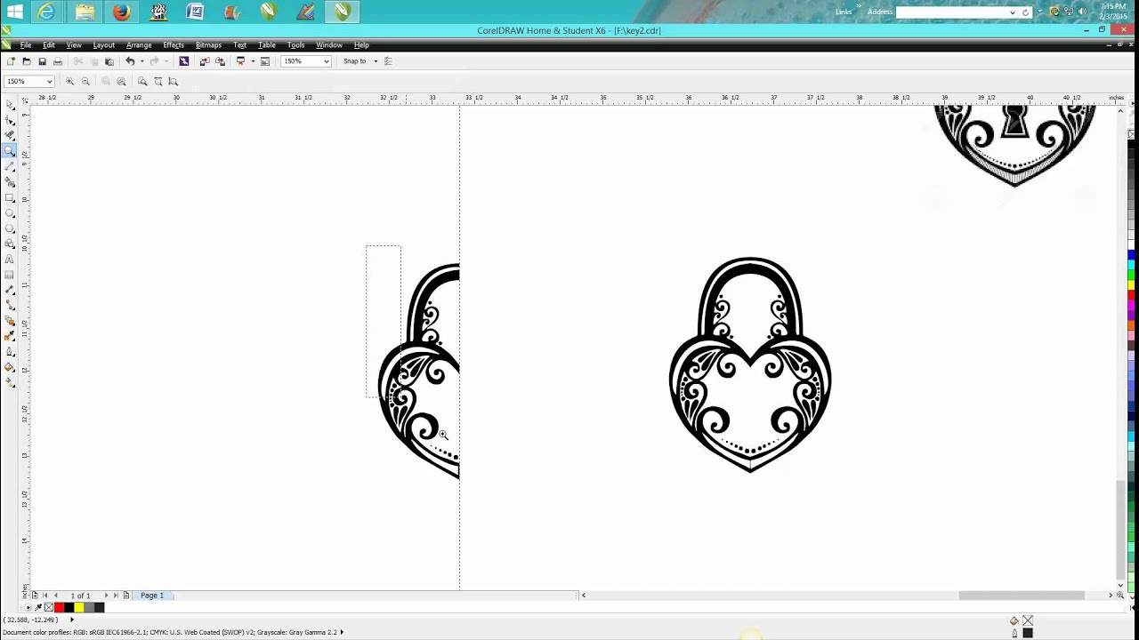 Corel draw clipart images - Corel Draw Tips Tricks Clip Art Clean Up With A Twist