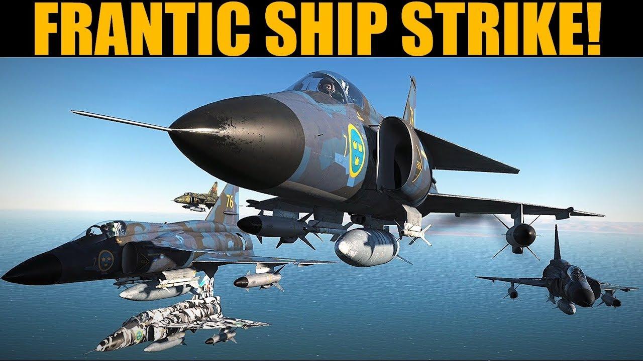 Strangedick Campaign: DAY 7 Anti-Ship & Strike Mission | DCS