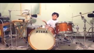 3 year old filipino boy drums like a pro