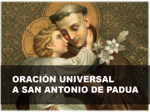 Oración Universal a San Antonio de Padua