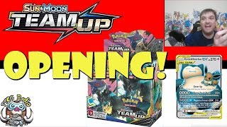 Pokemon TCG Team Up Booster Box Opening! (All The Snorlax!)