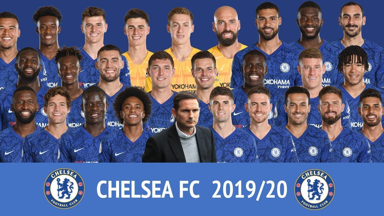 Chelsea Fc 2019 20 Official Squad Number Youtube
