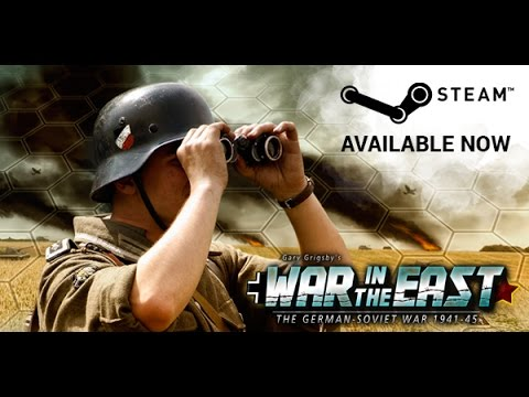 Gary Grigsby's War In The East Stream 1/2 - The Invasion Begins