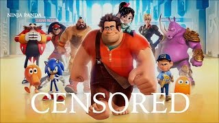 WRECK IT RALPH | Unnecessary Censorship | Censored Disney Pixar Parody Video