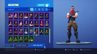 Putting the hime packbling on more then 50 skin fortnite